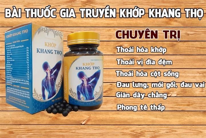 Cẩn trọng với thông tin quảng cáo TPBVSK Khớp Khang Thọ trên một số website - 1