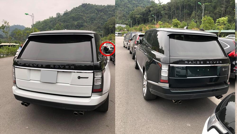 Loat xe sang tien ty Range Rover bi vat guong, trom logo o Viet Nam hinh anh 2
