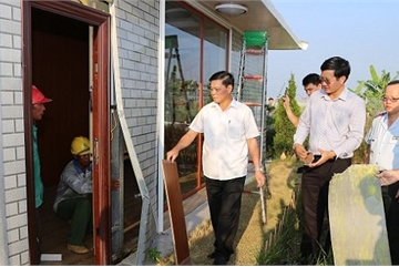 Yêu cầu tháo dỡ hàng loạt nhà tạm xây dựng trái phép của doanh nghiệp Trung Quốc ở Hải Phòng