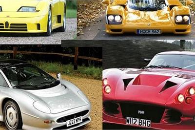 Top 10 siêu xe ấn tượng nhất thập niên 1990