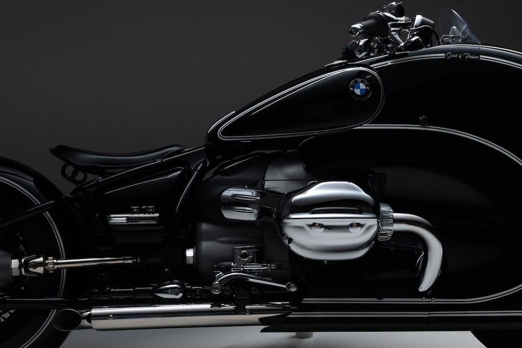 """Nhìn ngỡ tên lửa mặt đất, không ngờ chiếc mô tô này lại độ từ cruiser BMW R 18 """"nặng như đeo đá"""" ảnh 8"""