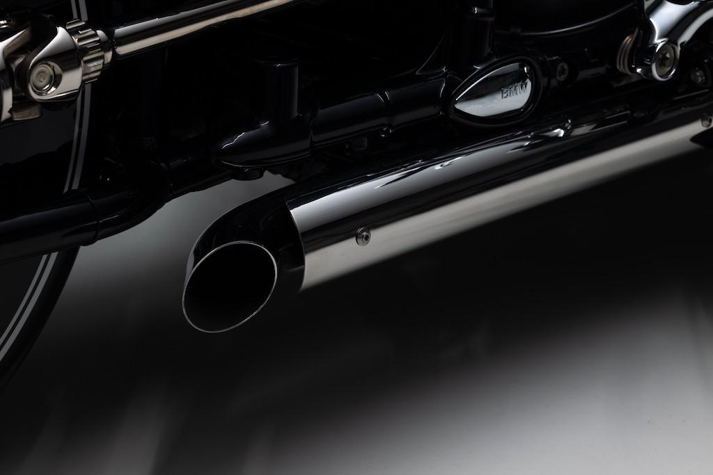 """Nhìn ngỡ tên lửa mặt đất, không ngờ chiếc mô tô này lại độ từ cruiser BMW R 18 """"nặng như đeo đá"""" ảnh 12"""