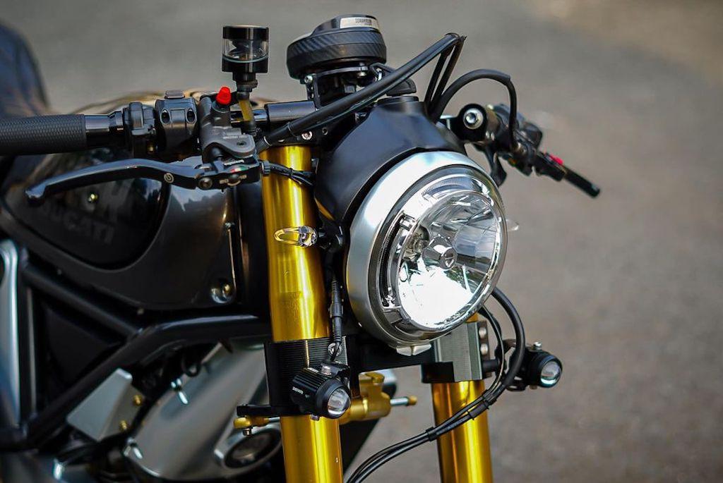 Cận cảnh Ducati Scrambler độ cafe racer ấn tượng từ Đồng Nai, đẹp từ kiểu dáng tới hiệu năng ảnh 7