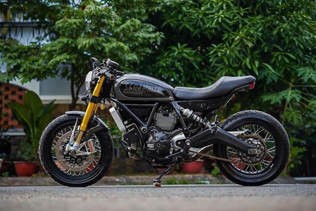 Cận cảnh Ducati Scrambler độ cafe racer ấn tượng từ Đồng Nai, đẹp từ kiểu dáng tới hiệu năng ảnh 2