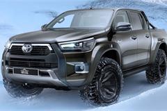 Toyota Hilux biến thành xe bán tải thám hiểm xứ lạnh, giá bán đắt ngang với xe sang Lexus