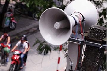 Hệ thống loa truyền thanh xã, phường đưa thông tin phòng dịch Covid-19 len lỏi đến từng gia đình