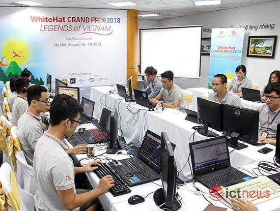 Vòng sơ loại cuộc thi An toàn không gian mạng toàn cầu WhiteHat Grand Prix 06 diễn ra từ ngày mai | Ngày mai, thi vòng sơ loại An toàn không gian mạng toàn cầu WhiteHat Grand Prix 06