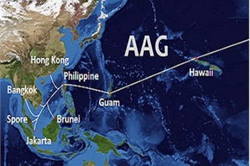 Hơn 10 ngày nữa tuyến cáp quang biển AAG được sửa xong