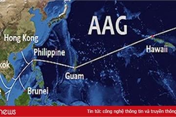 AAG đã được sửa xong, Internet Việt Nam đi quốc tế trở lại bình thường