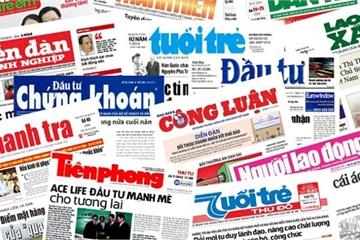 Hết năm 2020: Mỗi bộ, cơ quan ngang bộ có 1 báo in và 1 tạp chí in