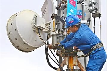 Vùng phủ sóng di động 3G, 4G đã phục vụ trên 98% dân số Việt Nam