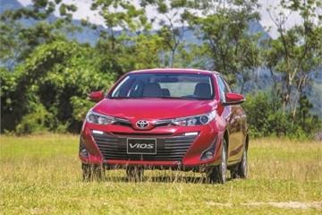 Toyota Vios 2018 lên đỉnh với 3.600 chiếc bán ra trong 1 tháng