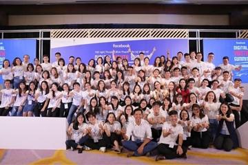 Facebook đào tạo kỹ năng số cho hàng trăm lãnh đạo trẻ Việt Nam