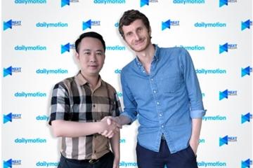 Hạ tầng chia sẻ video Dailymotion hợp tác chiến lược với Next Media