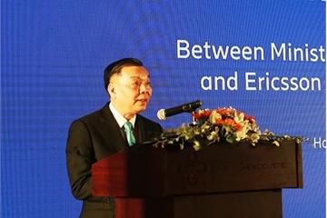 """Bộ trưởng Chu Ngọc Anh: """"Phải xây dựng một chiến lược quốc gia phát triển nền kinh tế số """""""