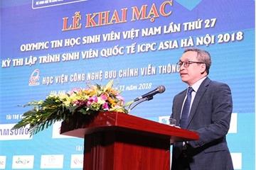 Khai mạc ngày hội của các tài năng trẻ CNTT-TT Việt Nam và châu Á