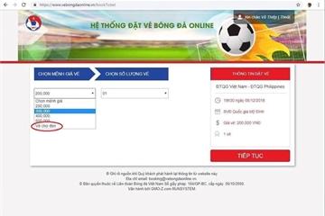 Ảnh chế bi hài về lựa chọn mua vé chợ đen ở AFF Cup 2018
