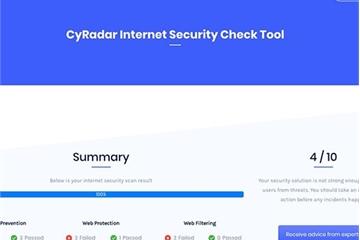 """Công cụ miễn phí giúp người dùng """"chấm điểm"""" khả năng ngăn chặn tấn công mạng"""