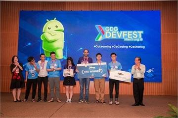Ngày hội Demoday - GDG DevFest MienTrung 2018: Tăng cường kết nối cộng đồng CNTT
