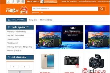 Ngày mai, người dùng Việt có cơ hội mua hàng ngàn sản phẩm 0 đồng trong Online Friday 2018