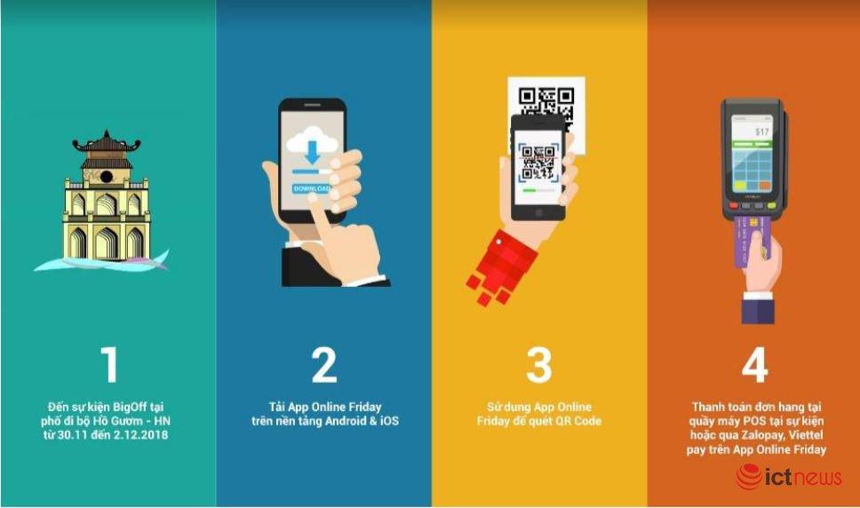 Hướng dẫn cách săn sản phẩm giá 0 đồng, giảm giá đến 90% tại Online Friday 2018 | Ngày mai, người dùng Việt có cơ hội mua hàng ngàn sản phẩm 0 đồng trong Online Friday 2018
