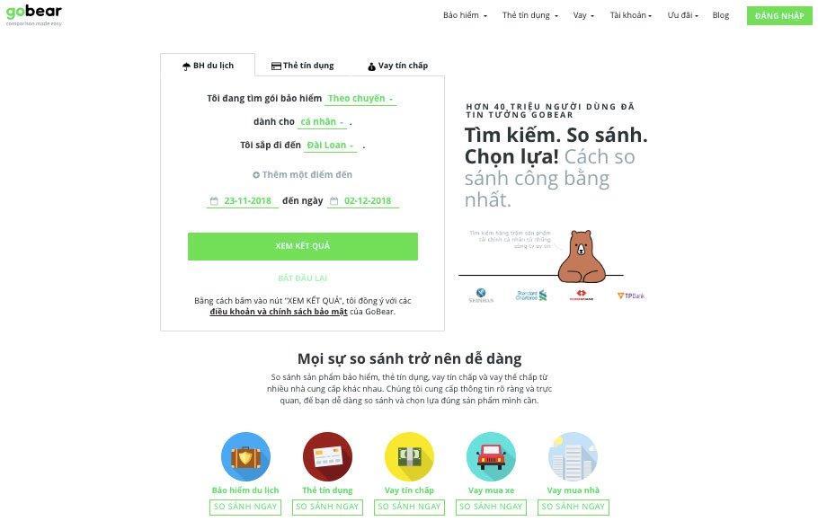 GoBear Việt Nam cán mốc 10 triệu lượt truy cập sau 2 năm | Ứng dụng Easy Apply giúp người dùng so sánh sản phẩm tài chính sẽ ra mắt thị trường vào đầu 2019 | CEO GoBear: Người dùng Việt đã có thói quen so sánh các sản phẩm tài chính trước khi quyết định