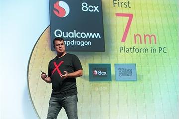 """Qualcomm tung ra dòng chip Snapdragon 8cx biến """"PC thành smartphone"""""""