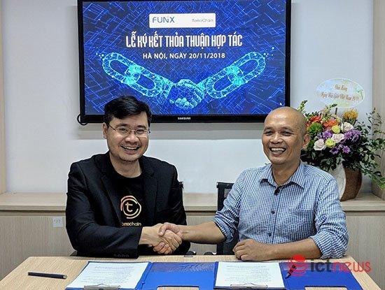 Đại học trực tuyến FUNiX hợp tác  với TomoChain phát triển nhân lực về blockchain