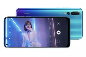 """Huawei nova 4 trình làng với camera 48MP, màn hình """"đục lỗ"""""""