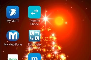 Hướng dẫn cài hình nền động Giáng sinh cho điện thoại
