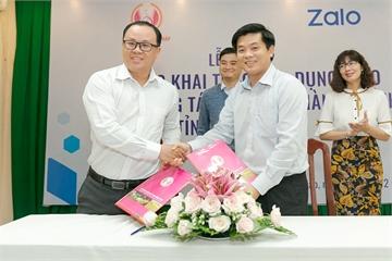 Đồng Tháp ứng dụng Zalo làm nền tảng cho dịch vụ công trực tuyến