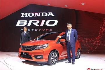 Xe giá rẻ Honda Brio rục rịch về Việt Nam
