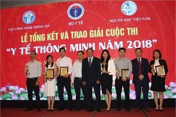 Giải pháp thi Y tế thông minh 2018 của VNPT được vinh danh trên thảm đỏ