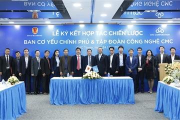 Ban Cơ yếu Chính phủ hợp tác với CMC, VNPT triển khai dịch vụ bảo mật cho bộ ngành và Chính phủ