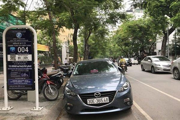 Hà Nội tiếp tục nhân rộng mô hình trông giữ xe thông minh