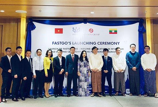 Ra mắt tại Myanmar, ứng dụng gọi xe FastGo đặt mục tiêu có 2 triệu người dùng trong năm 2019 | Ra mắt tại Myanmar, ứng dụng gọi xe FastGo đặt mục tiêu có 2 triệu người dùng trong năm 2019