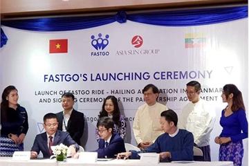Ra mắt tại Myanmar, ứng dụng gọi xe FastGo đặt mục tiêu có 2 triệu người dùng trong năm 2019