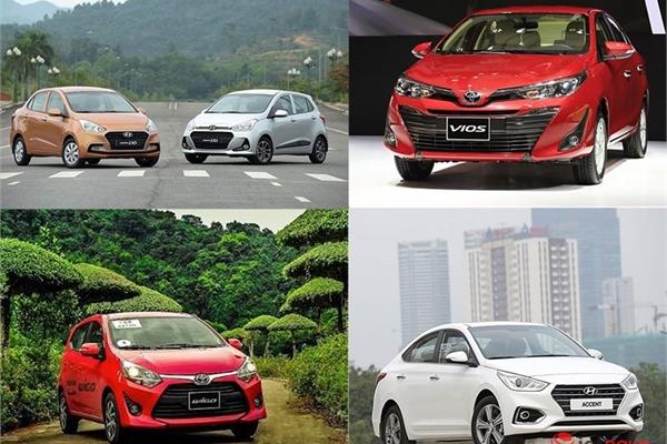Đây là những mẫu xe giá rẻ ăn khách nhất tại thị trường Việt Nam