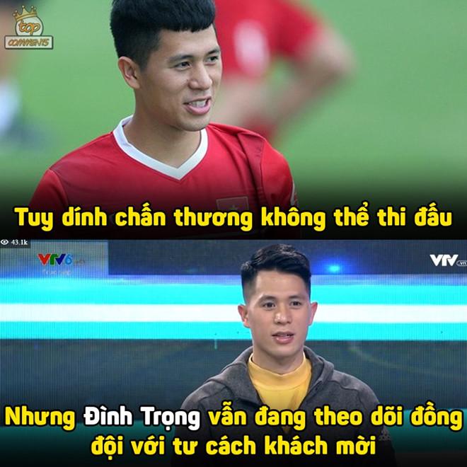 Anh che 'hoa mi' Cong Phuong sang nhat hiep 1 tran Viet Nam - Iraq hinh anh 1