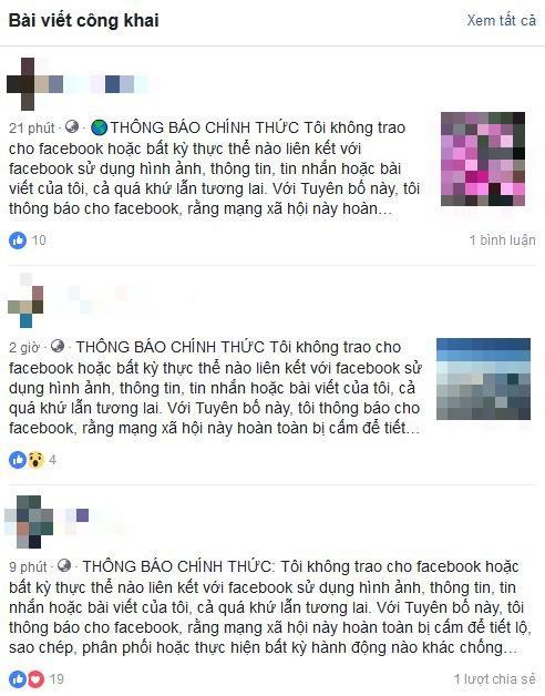 Nhẹ dạ cả tin, người dùng Facebook Việt lại sập bẫy trò lừa bắt đăng tải lại status để bảo vệ thông tin cá nhân - Ảnh 3.