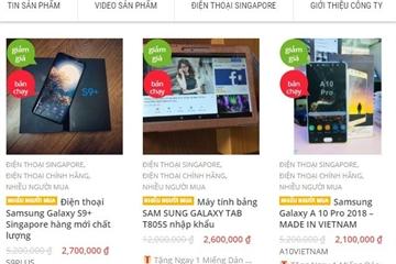 Xuất hiện website giả mạo FPT Shop lừa đảo khách hàng