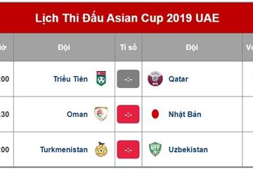 Lịch trực tiếp Asian Cup 2019 ngày 13/1 trên VTV5, VTV6 và Fox Sports