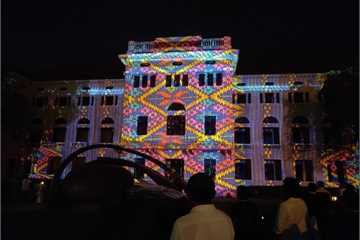Những màn trình diễn hấp dẫn của máy chiếu Epson trong bảo tàng Thái Lan và các ứng dụng vào công việc, giải trí