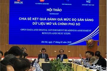 WB: Việt Nam đã có được nền tảng vững chắc để phát triển Sáng kiến dữ liệu mở