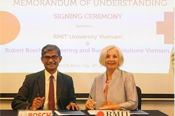 RMIT Việt Nam hợp tác cùng Bosch nâng cao trải nghiệm cho sinh viên công nghệ