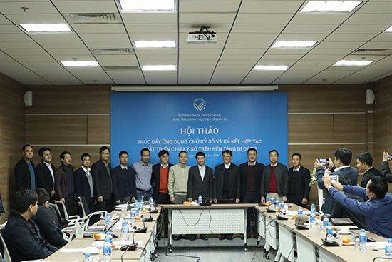 Mở rộng triển khai chữ ký số trên di động trong năm 2019 | Chữ ký số trên di động sẽ được triển khai mở rộng trong năm 2019 | NEAC: Số thuê bao chữ ký số cá nhân tại Việt Nam mới chỉ chiếm khoảng 1%