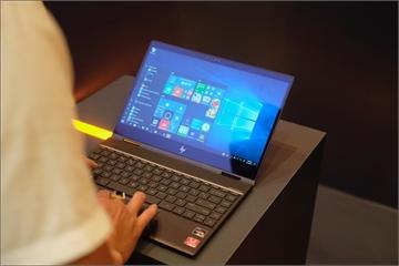 HP giới thiệu máy tính gập, xoay 360 độ, sử dụng chip AMD