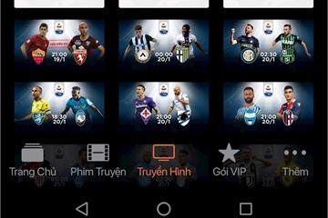 Hướng dẫn xem Serie A miễn phí trên FPT Play