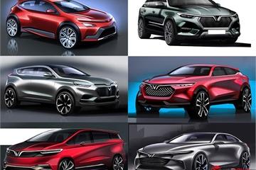 VinFast chính thức công bố 7 mẫu ô tô sẽ ra mắt vào năm tới