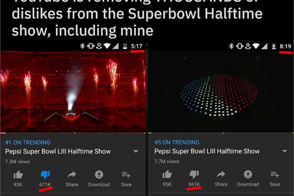 Nghi vấn YouTube xóa dislike của người dùng ở những video của các công ty lớn